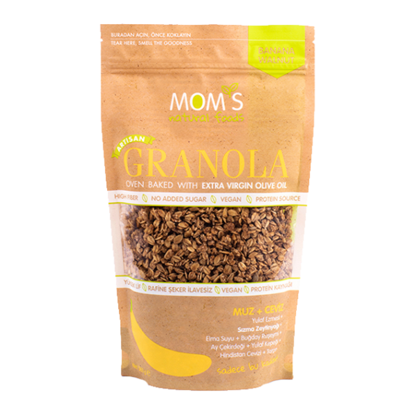 Picture of Banana - Walnut Granola 360 gr