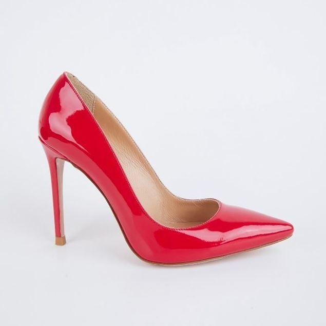 الصورة: Jabotter Hemera Red Patent Leather 10 Cm Stiletto