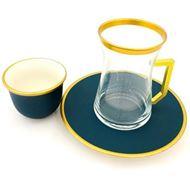 صورة طقم شاي و فناجين - 18 قطعة