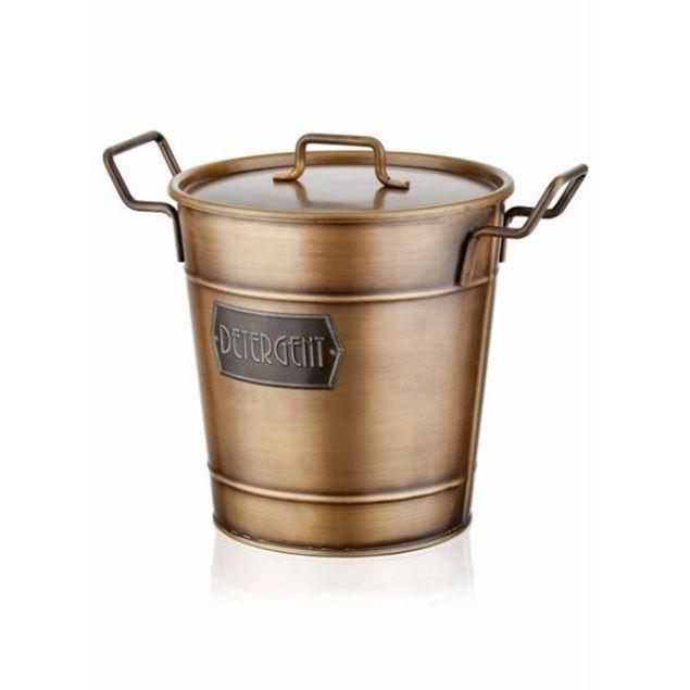 Picture of Detergent Storage Box - Gold