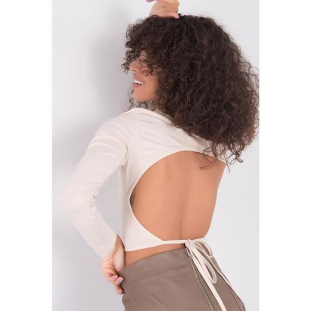 Picture of Low-cut Back Long Sleeve Bustier