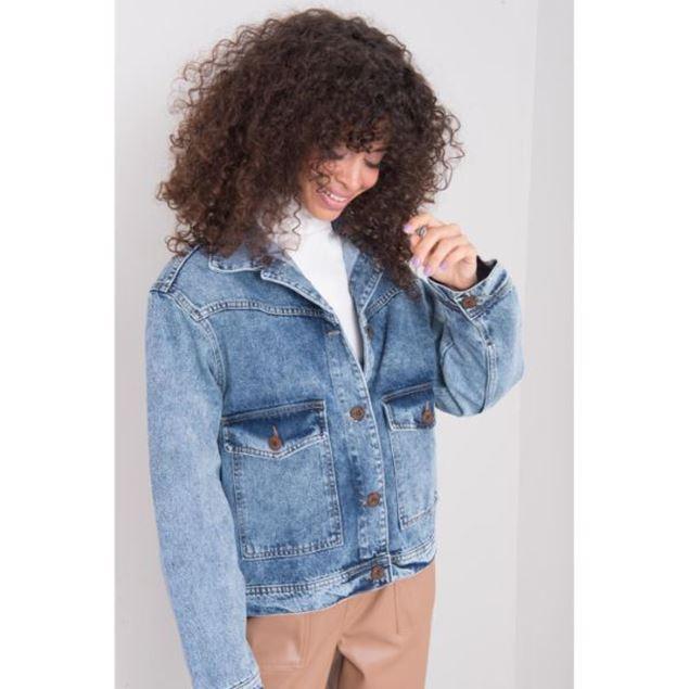 Picture of Pocket Detailed Denim Jacket