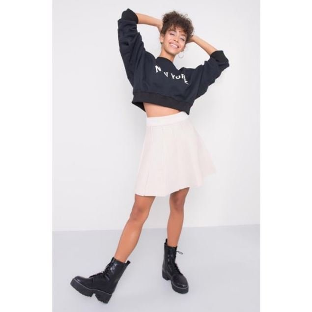Picture of Knitwear Mini Skirt