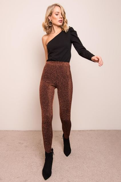 Picture of Detailed Tights with Elastic Waist