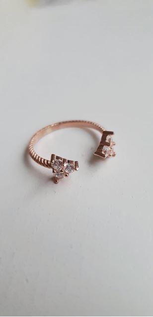 Picture of Split Mini Trio Silver Ring
