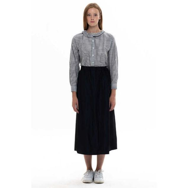 Picture of Women's shirt with round neck and long sleeves