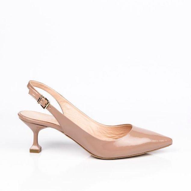 الصورة: حذاء بكعب - 5سم