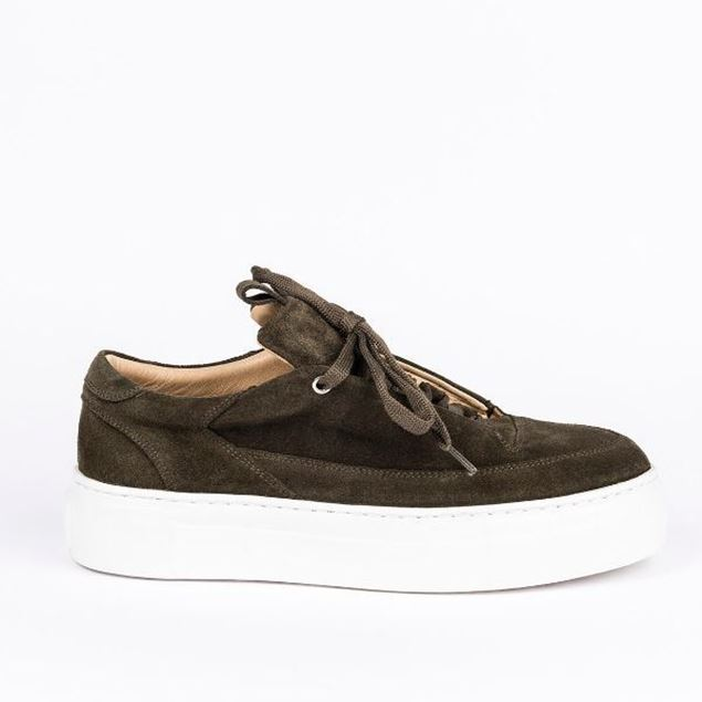 Picture of Jabotter Swan khaki suede Sneakers
