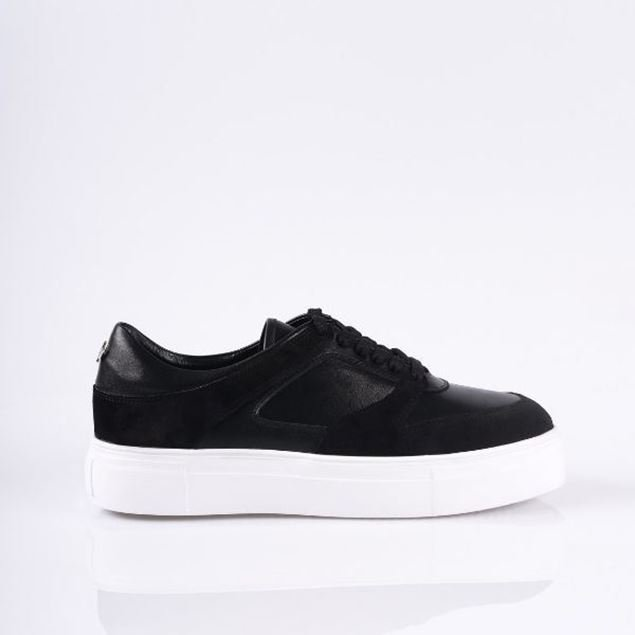 Picture of Jabotter Ruby Black Suede  Sneakers