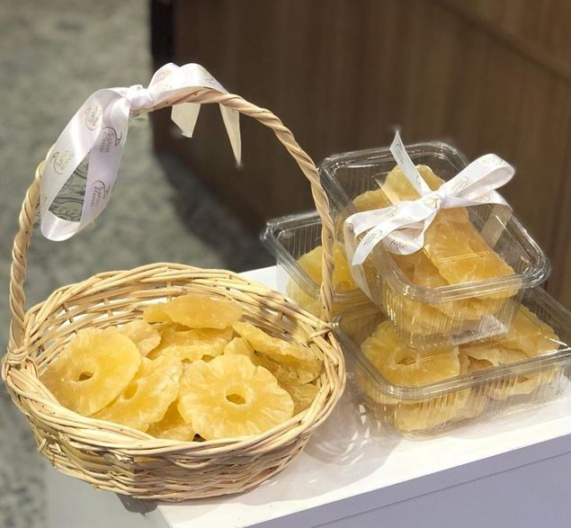 Picture of Dried Fruits - Pineapple