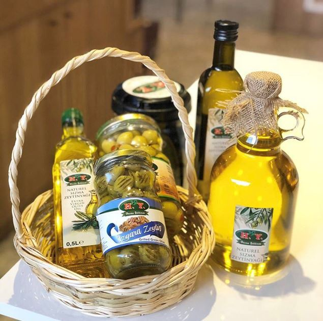 Picture of Olive Oil Liter - Glass Bottle