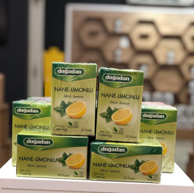 Picture of Lemon And Mint Tea - 20 Bags