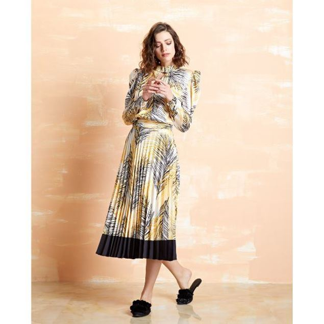 Picture of Pattern Pleated Skirt