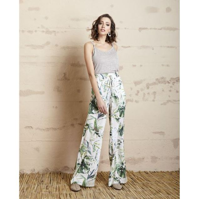 Picture of Floral Patterned Pants