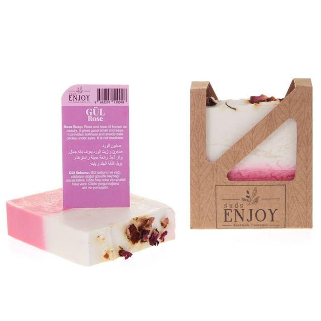 الصورة: صابون صناعة يدوية   زيت الورد