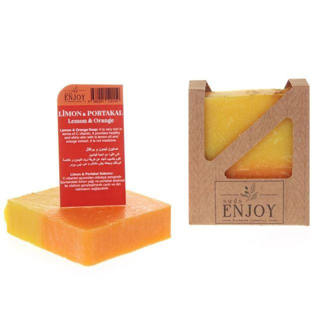 الصورة: صابون صناعة يدوية   الليمون والبرتقال  Suds Enjoy
