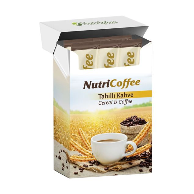 Picture of NutriCoffee slimming coffee with wheat grains