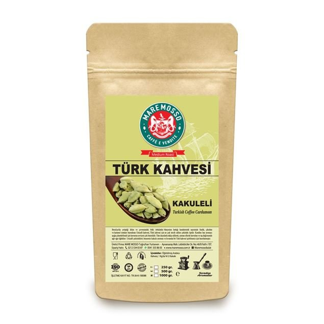 Picture of CARDEMOM FLAVORED TURKISH COFFEE 250 GR