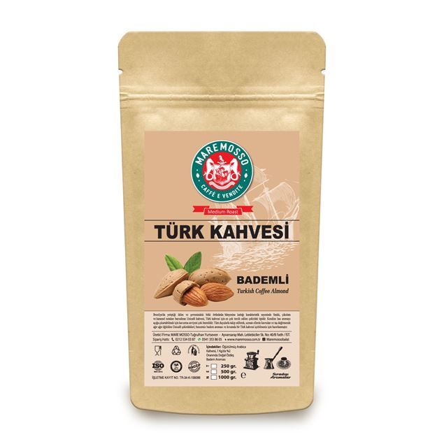 Picture of ALMOND FLAVORED TURKISH COFFEE 250 GR