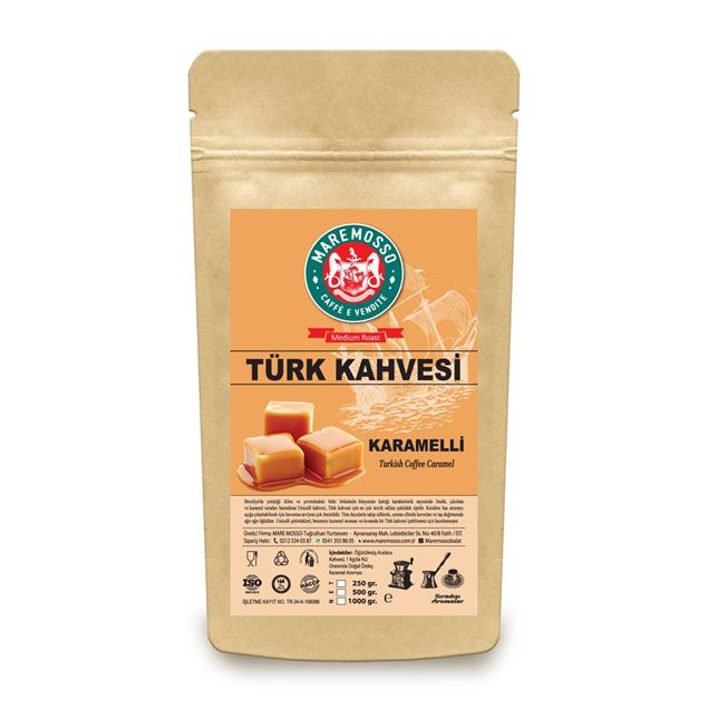 Picture of CARAMEL FLAVORED TURKISH COFFEE 250 GR