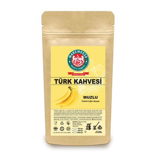 Picture of BANANA FLAVORED TURKISH COFFEE 250 GR