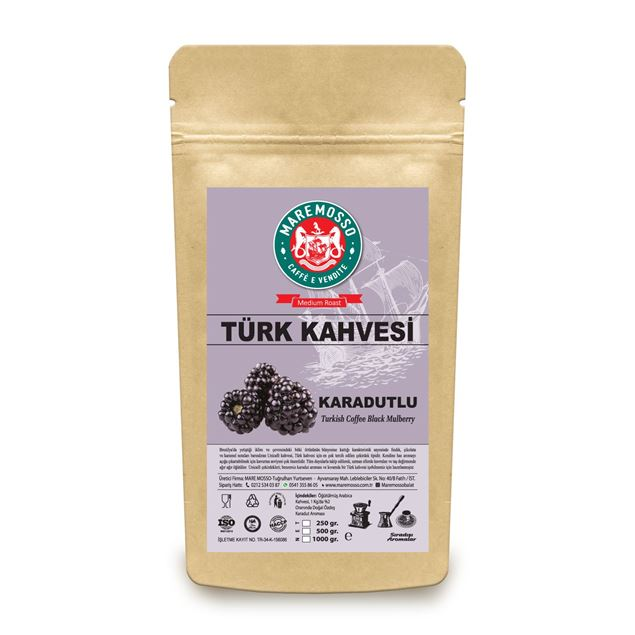 Picture of BLACK BERRY FLAVORED TURKISH COFFEE 250 GR