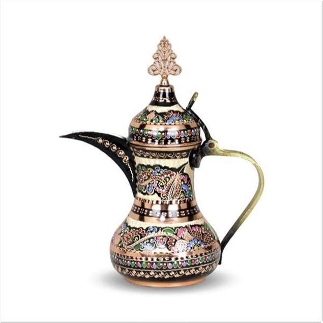 الصورة: دلة قهو عربية نحاس - 0,7 لتر
