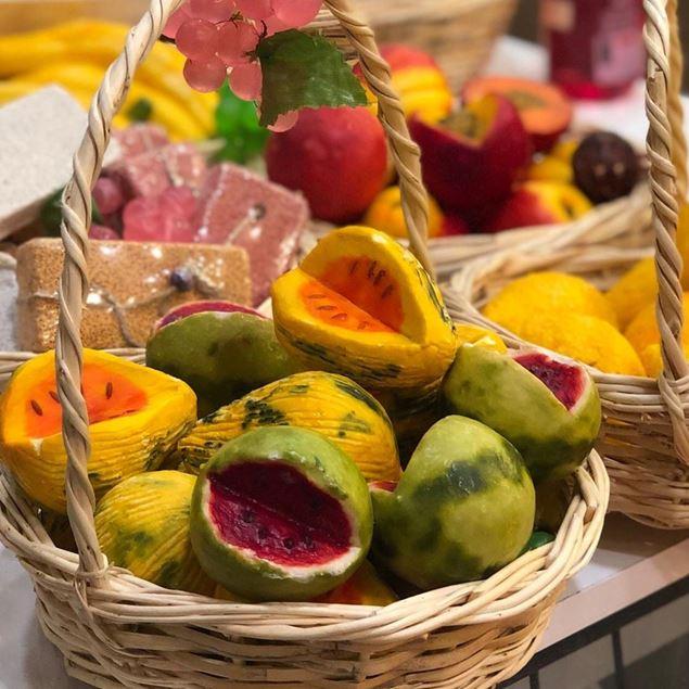 الصورة:   صابون الفواكه - تفاح أصفر