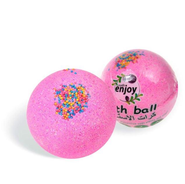 الصورة: كرة استحمام - برائحة الاحلام الوردية