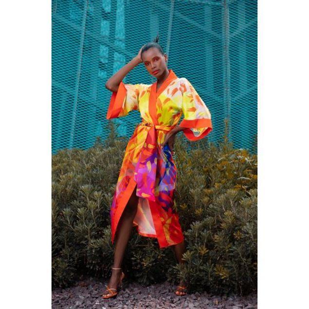 Picture of Feather Kimono