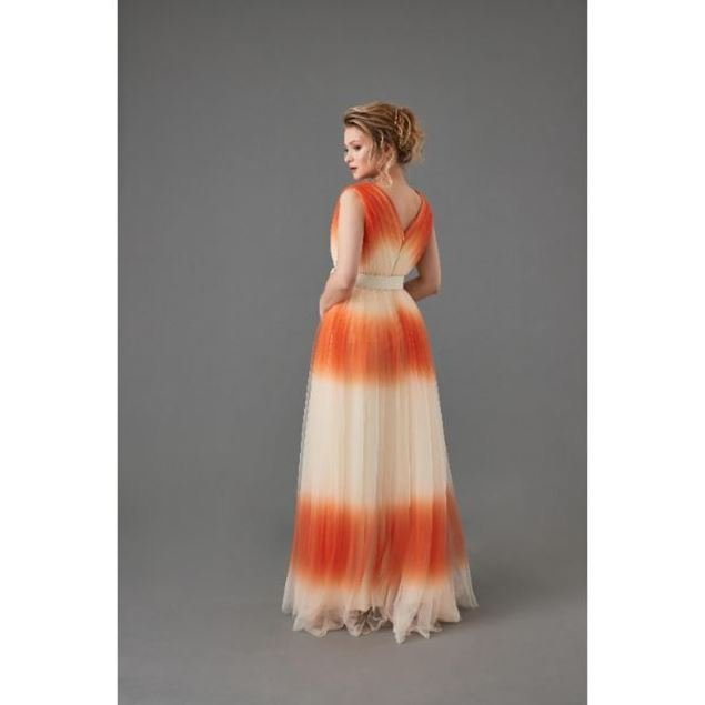 Picture of Evening dress With Belt