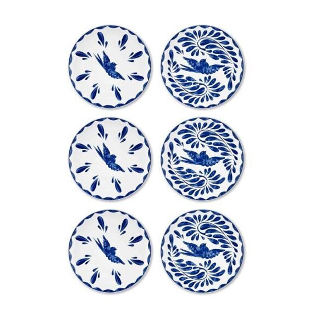 Picture of Azur Cake Plate Set Of 6 - 19 Cm - The Mia