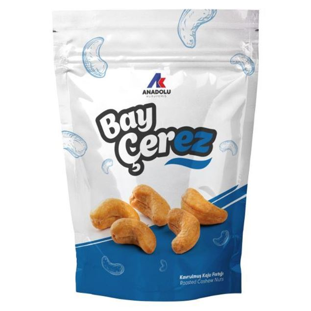 Picture of Baycerez Roasted Cashew 80 gr*12 packs