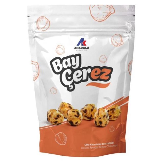 Picture of Baycerez Double Roasted Yellow Chickpeas 80 gr *12 packs