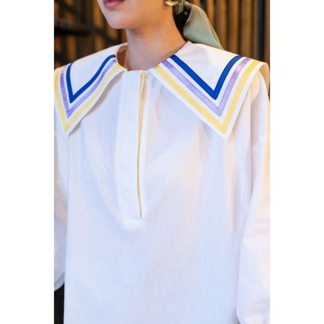 Picture of Long Tunic With Collar - Nillush Vintage