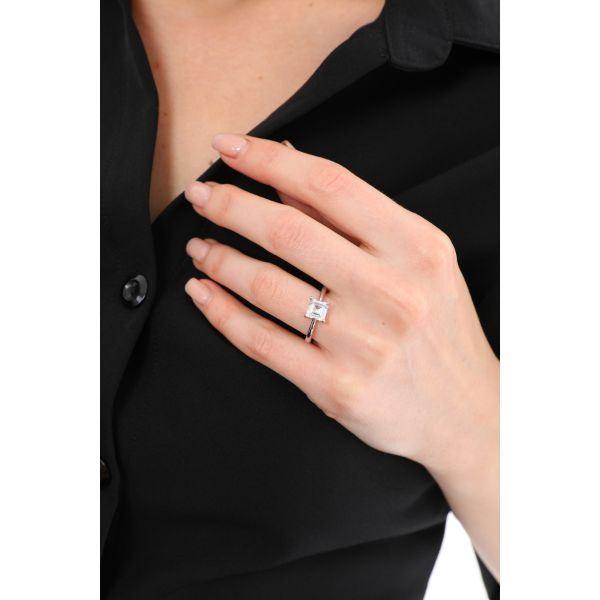 صورة خاتم فضي  - دريم لايك