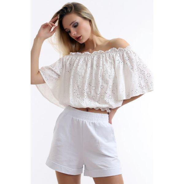 Picture of Women'S Short Blouse - Dreamlike