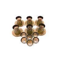 صورة طقم أكواب زجاج  للشاي و القهوة - 18 قطعة