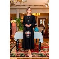 صورة فستان بأكمام مشدودة - نيلوش فينتيج